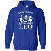 The Best Are Born As Leo August Birthday Hoodie