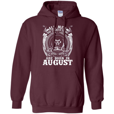 The Best Are Born In August Birthday Boy Hoodie - Shipping Worldwide - NINONINE