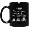 The More I Play With It The Bigger It Gets Jeep Mug - Shipping Worldwide - NINONINE