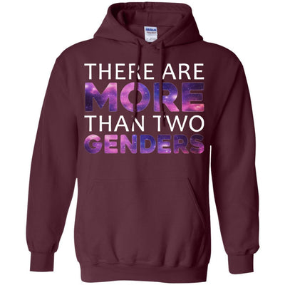 There Are More Than 2 Genders Hoodie - Shipping Worldwide - NINONINE