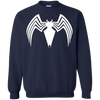Venom Logo Sweater Sweatshirt - Navy - Shipping Worldwide - NINONINE