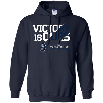 Victory Is Ours Red Sox Hoodie - Navy - Shipping Worldwide - NINONINE