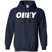 White Obey Hoodie
