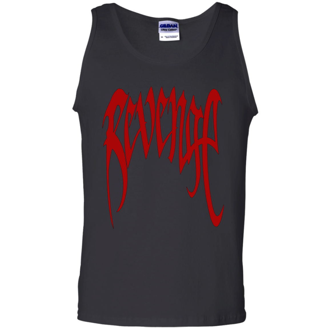 XXXTentacion Tank Top Revenge Merch Red