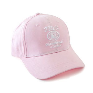 Ladies' Pink Hat with Tito's Logo