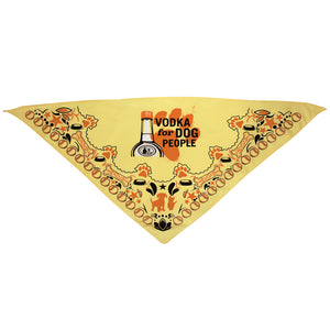 Vodka For Dog People Bandana