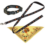 Tito's Handmade Vodka dog leash, collar, and Vodka For Dog People bandana
