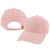 Front and back view of Ladies' Pink Hat