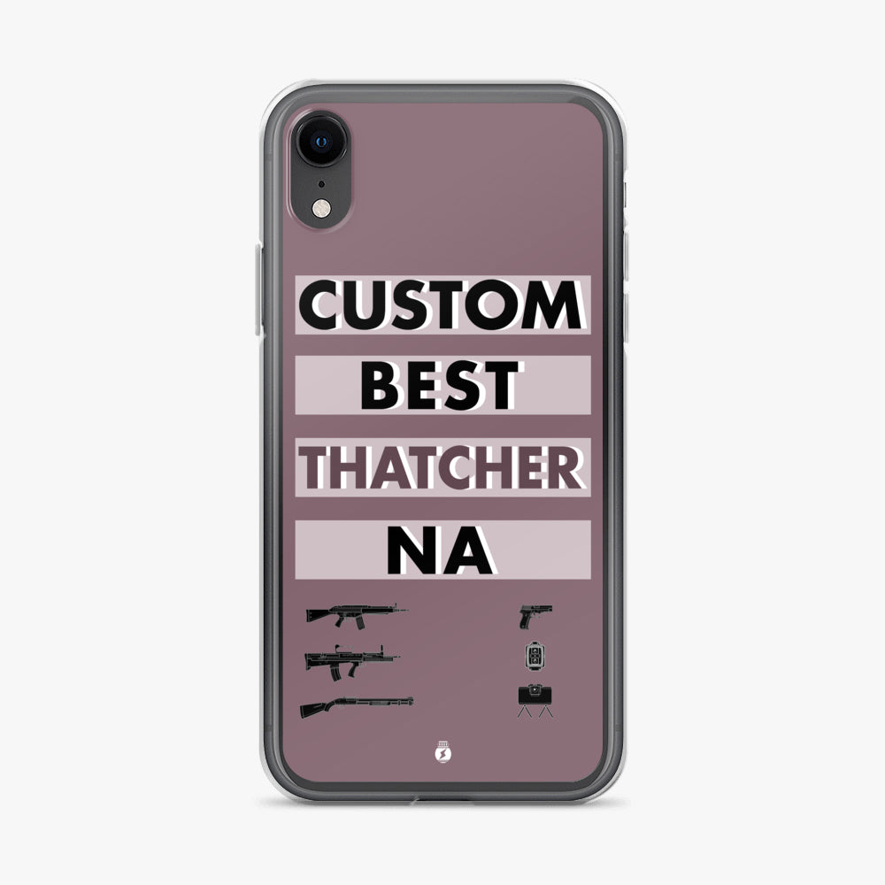 Rainbow Six Siege Personalized Best Operator iPhone Case