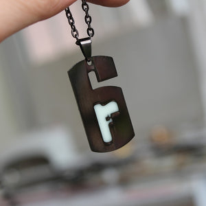 Rainbow Six Siege Necklace/Key Chain (Glows in Dark)