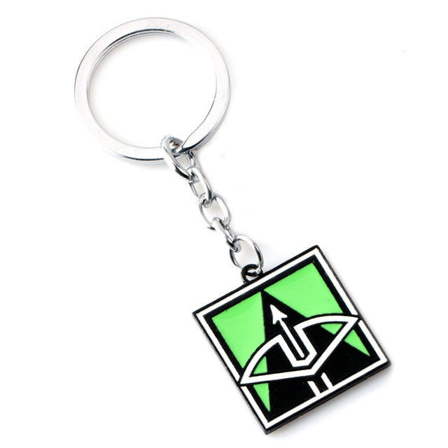 Rainbow Six Siege Key Chains (Collection 1)