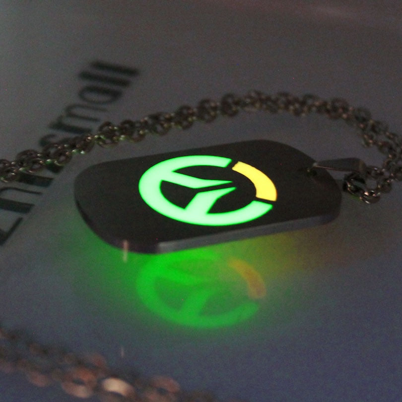 Overwatch Necklace/Key Chain (Glowing in the dark)