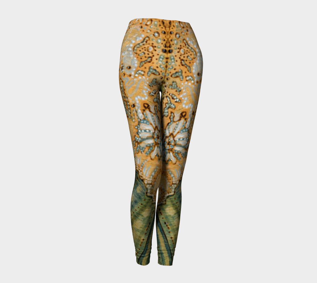 Golden Ocean Leggings