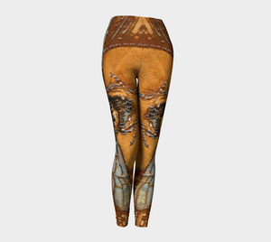 Bee Power Golden Leggings