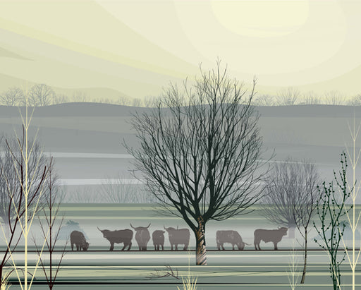 Dan Crisp Misty Morning Limited Edition Art Prints