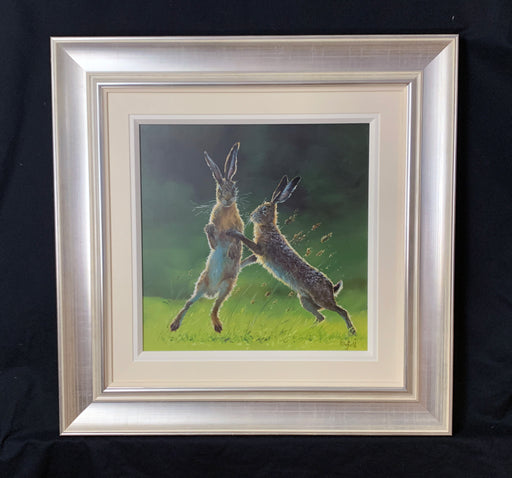 Rick Duffield Photo Realism Hares Original Art