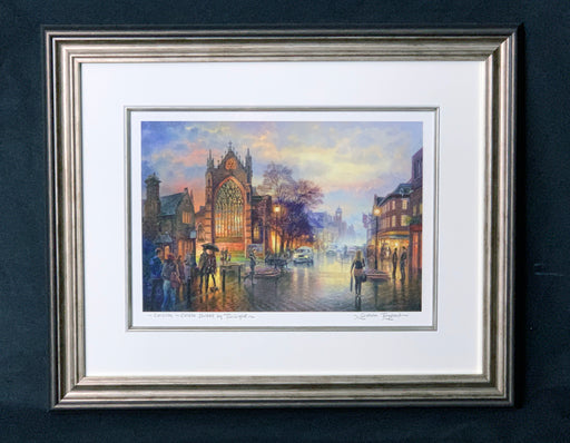 Graham Twyford: Castle Street By Twighlight