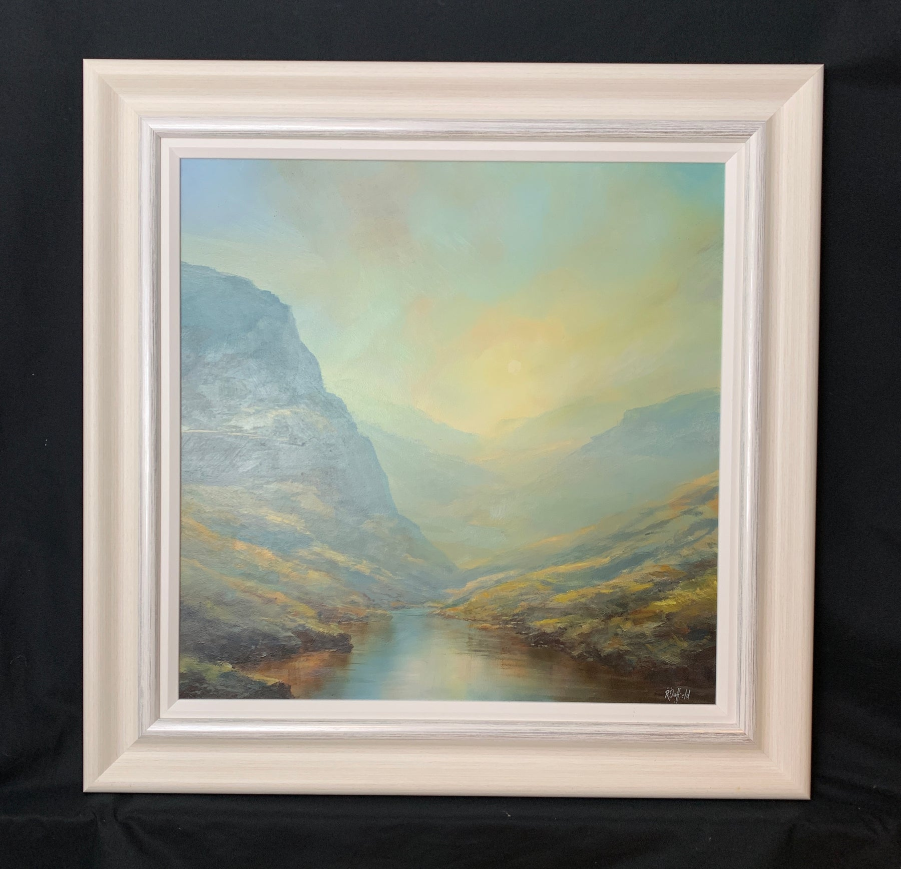 Rick Duffield 'Haze Over The Pass' New Original Artwork For Sale