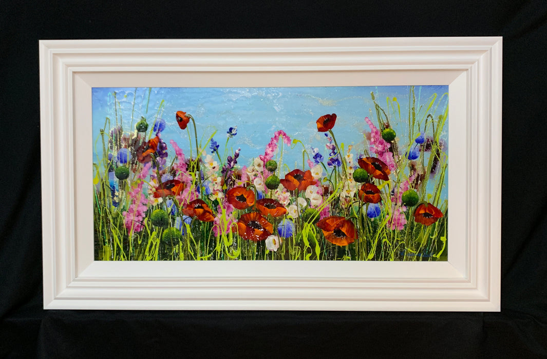 Rozanne Bell Poppies Original Painting