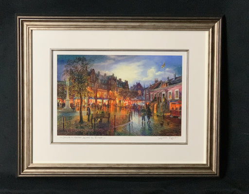 Graham Twyford: Market Square By Twilight
