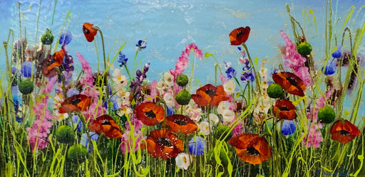 Rozanne Bell Original Poppies Painting