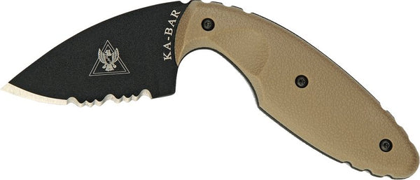 KA-BAR 1477CB ORIGINAL TDI HALF-SERRATED Fixed-Blade Knives