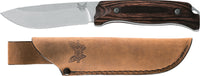Benchmade 15001-2 Saddle Mountain Skinner Fixed-Blade Knives