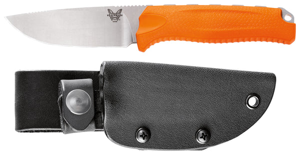 Benchmade 15008 Orange Steep Country Fixed-Blade Knives