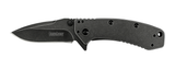 Kershaw 1555BW Cryo - Blackwash Assisted-Opening Knives