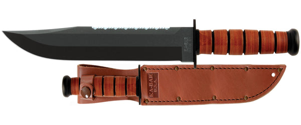 KA-BAR 2217 BIG BROTHER LEATHER Fixed-Blade Knives
