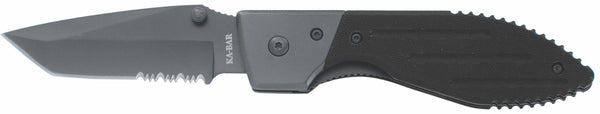 KA-BAR 3075 WARTHOG TONTO FOLDER SERRATED Manual-Opening Knives