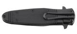 CRKT K345KKS BOMBASTIC BLACK WITH TRIPLE POINT SERRATIONS Assisted-Opening Knives