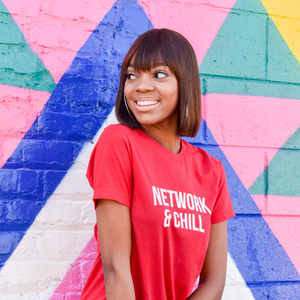 Network & Chill Tee | Red