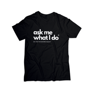 Ask Me What I Do Hat | Black