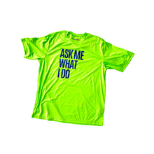 Load image into Gallery viewer, Networking Fitness Tee | Lime Green