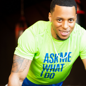 Networking Fitness Tee | Lime Green