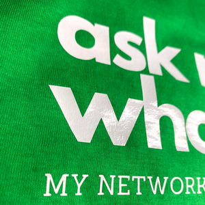 Ask Me What I Do Billboard Tee | Green