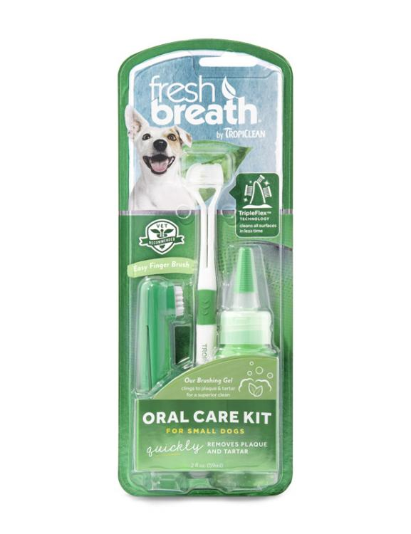 Tropiclean Fresh Breath Oral Care Kit Small - RSPCA VIC