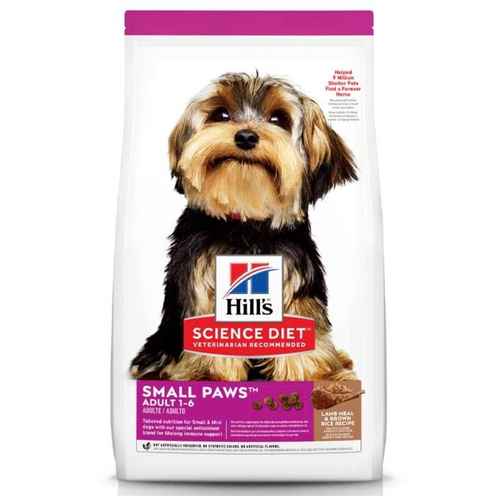 Hill's Science Diet Lamb & Rice Small Paws Adult Dog Food 2kg