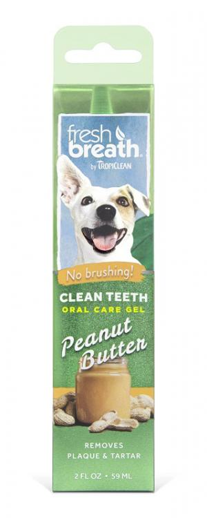Tropiclean Oral Care Gel Peanut Butter 59ml - RSPCA VIC