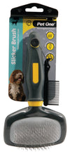 Pet One Grooming Slicker Brush Large - RSPCA VIC