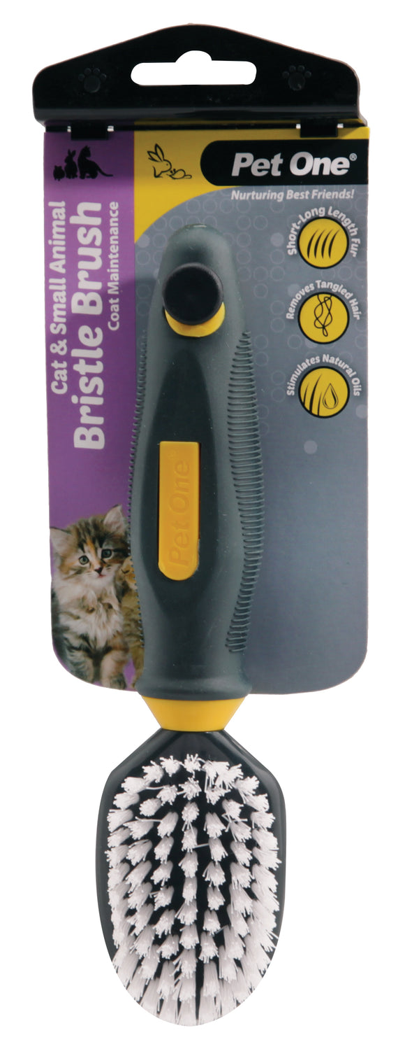 PO Small Animal Soft Bristle Brush - RSPCA VIC