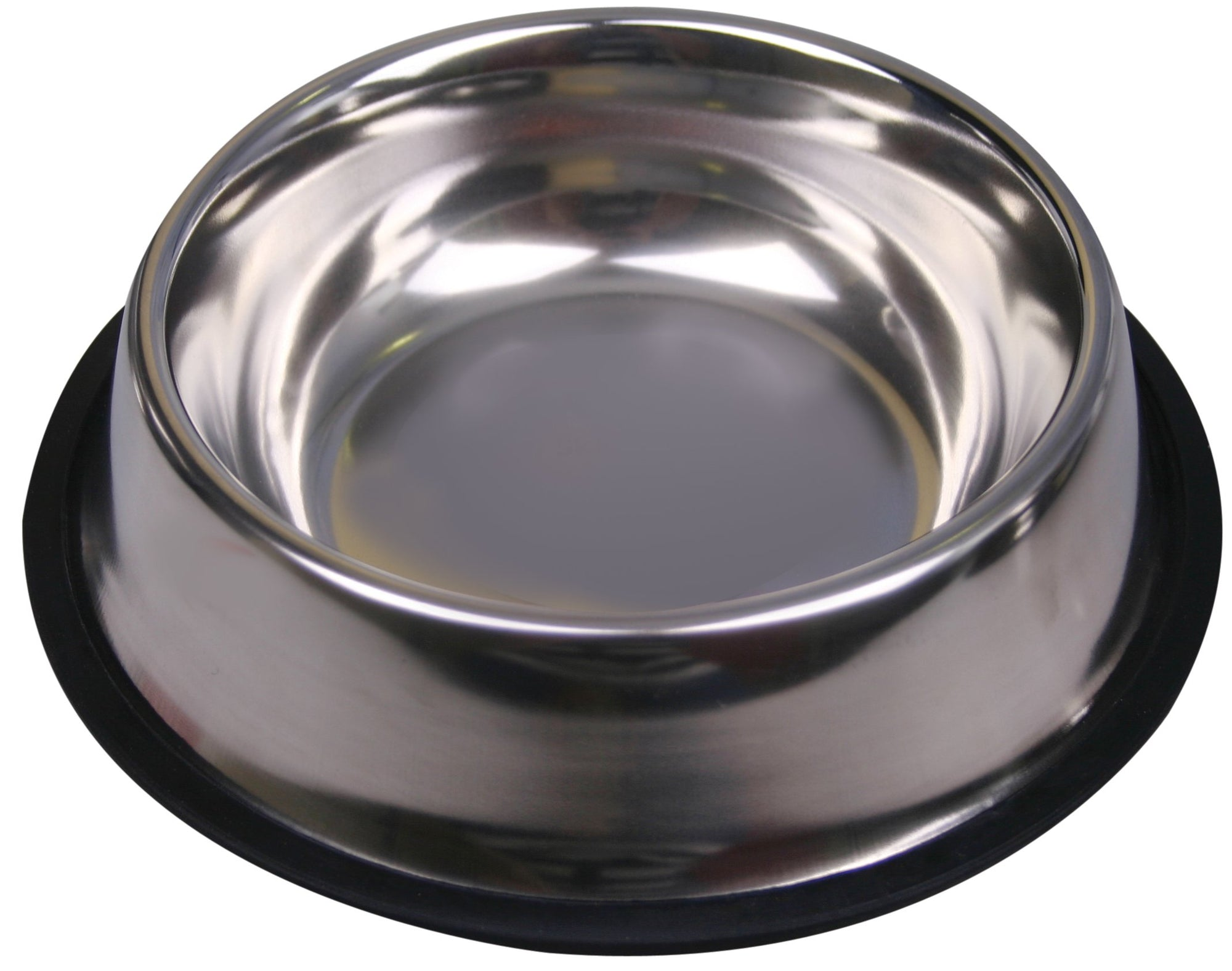 Pet One Bowl Anti Skid Anti Tip Stainless Steel