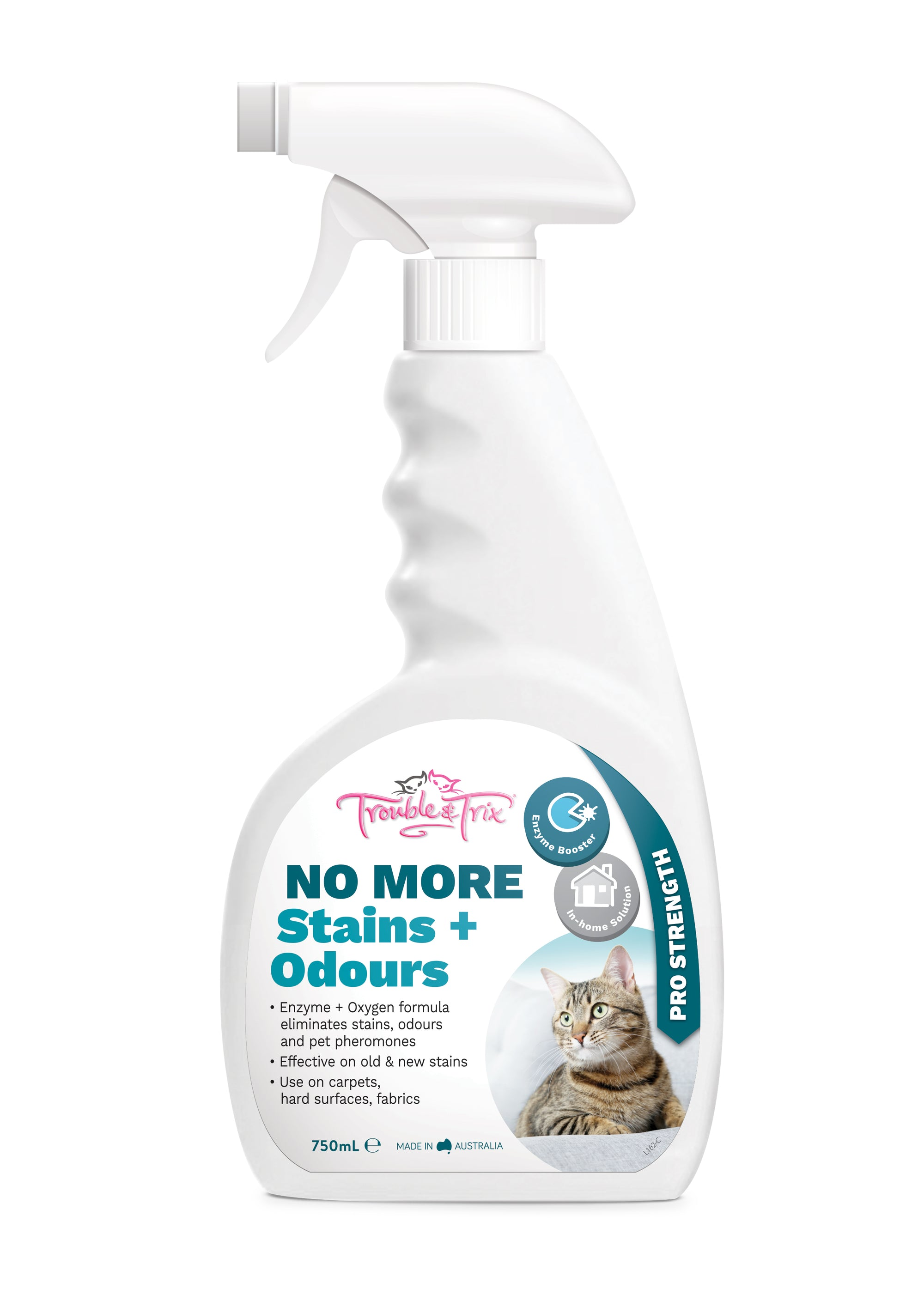 T&T No More Stain & Odour 750ml - RSPCA VIC