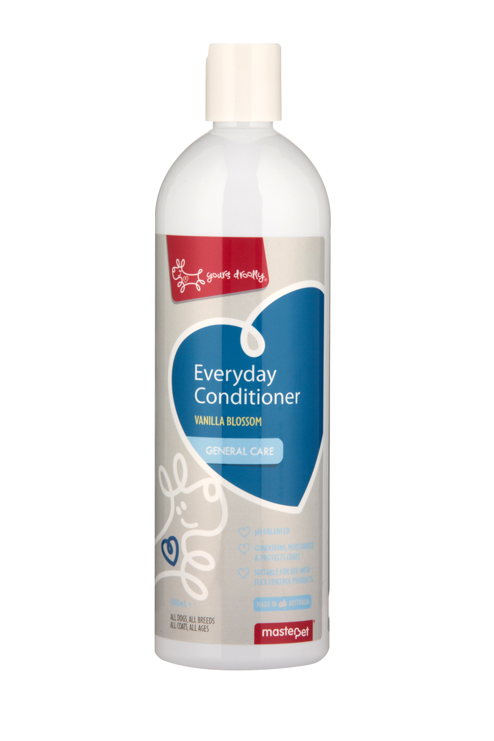 Yours Droolly Everyday Dog Conditioner Vanilla 500ml - RSPCA VIC