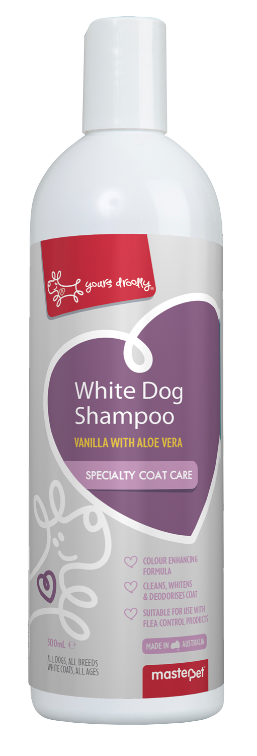 Yours Droolly White Dog Shampoo 500ml - RSPCA VIC