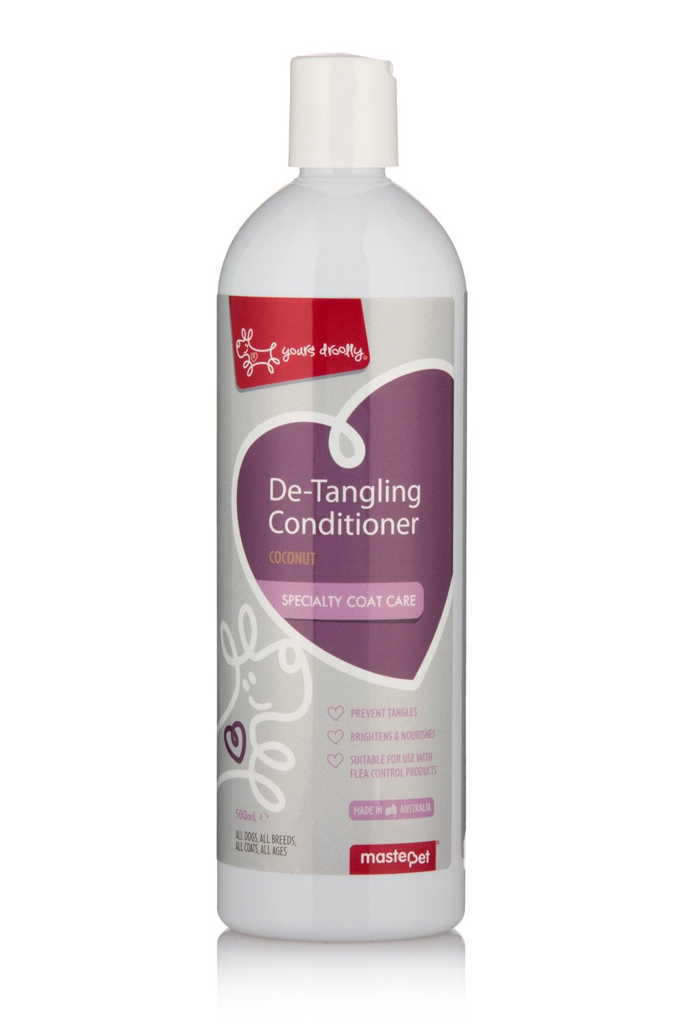 Yours Droolly Detangling Conditioner 500ml - RSPCA VIC
