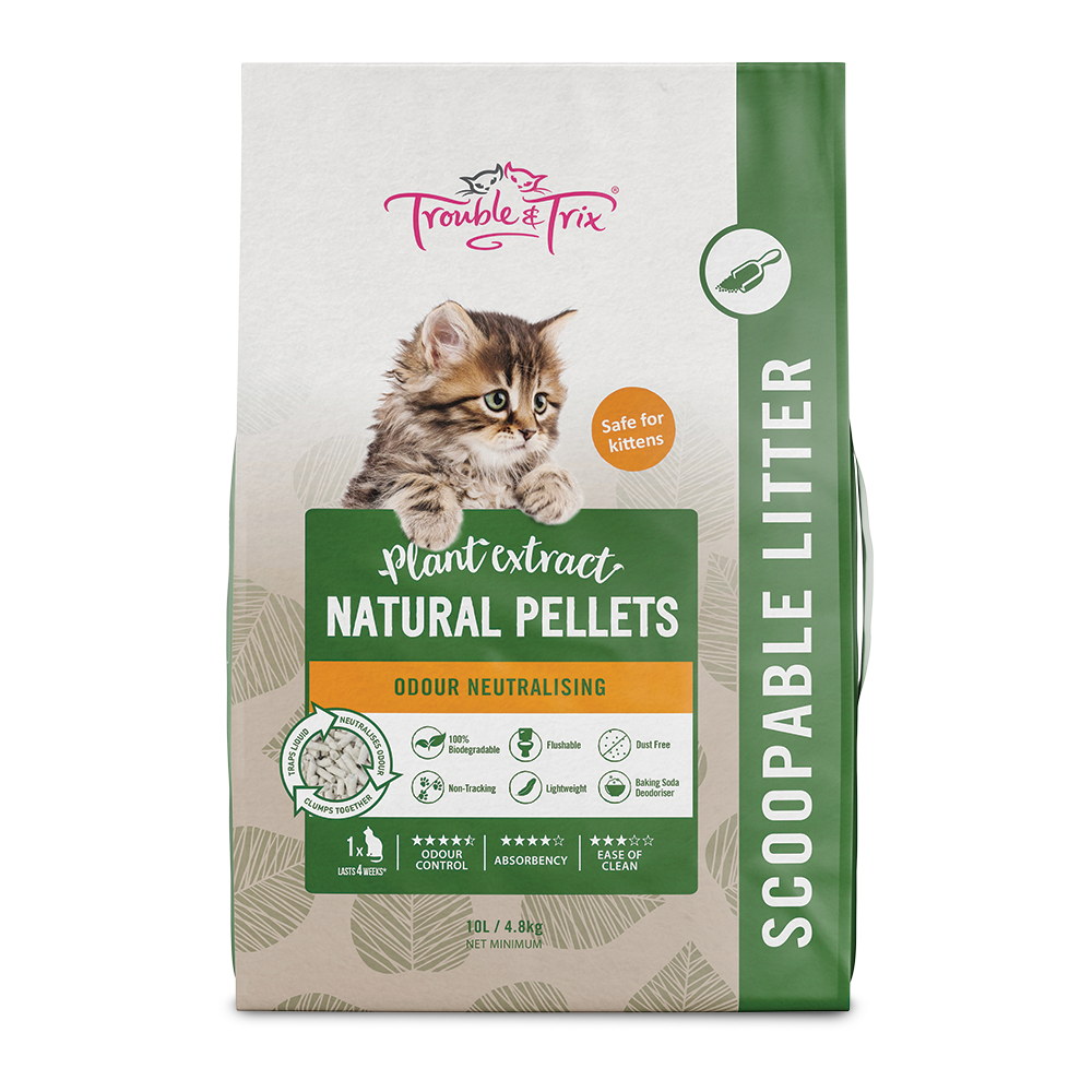 T&T Natural Cat Litter 10L - RSPCA VIC