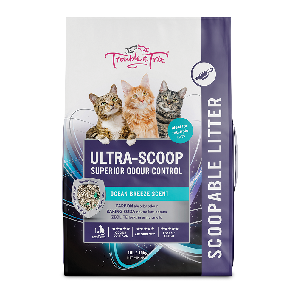 T&T Ultrascoop Cat Litter 10L - RSPCA VIC