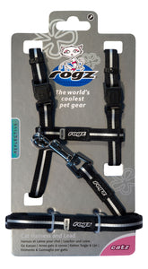 Rogz Alleycat Harness & Lead Set Black